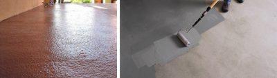 Красим бетон пенопластом водоотталкивающая добавка в бетон купить