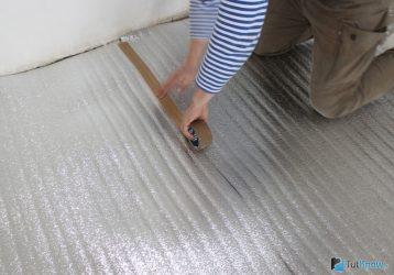 Утеплитель для пола по бетону под линолеум