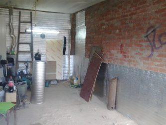 Утепление кирпичного гаража изнутри своими руками