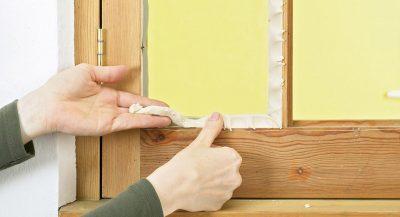 Как утеплить окно деревянное на зиму изнутри?