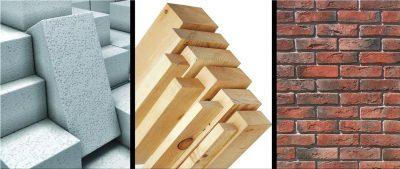 Какой материал лучше использовать для строительства дома?