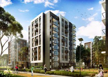 Современные фасады многоэтажных жилых домов