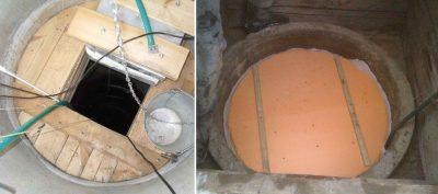 Как правильно утеплить колодец из бетонных колец?