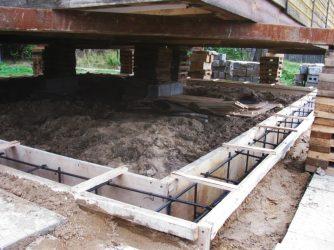 Строительство дома на старом фундаменте