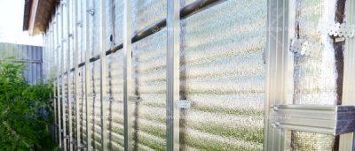 Фольгированный утеплитель для стен снаружи под сайдинг