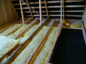 Утепление перекрытия холодного чердака базальтовой ватой