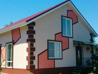 Как красить фасад дома?