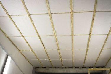 Утепление потолка пенопластом снаружи