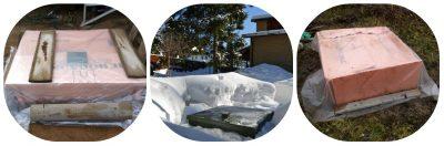 Как утеплить крышку септика на зиму?